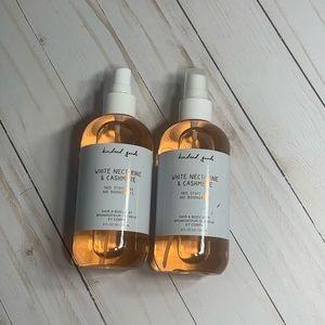 Kindred Goods White Nectarine & Cashmere Body Mist
